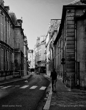 Street scene paris